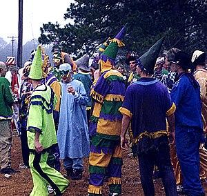 Mamou, Louisiana - Courir de Mardi Gras in Mamou, 2006