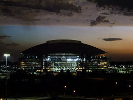 Cowboys-Stadium-Night
