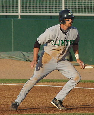Craig Gentry - Gentry during his tenure with the Clinton LumberKings, Single-A affiliates of the Texas Rangers, in 2007