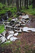 Crashed Dornier Do 17M-1 Hansakollen, Maridalen Oslo (3)