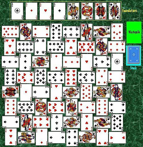 crazy quilt solitaire wikipedia