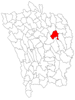 Location of Creţeşti