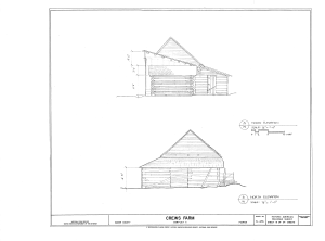 Crews Farm, Macclenny, Baker County, FL HABS FL-398 (sheet 15 of 24).png