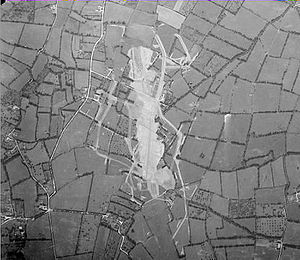 Cricqueville Airfield - Photo of Cricqueville en Bessin Airfield A-2 in June 1947, almost 3 years after the airfield had closed.