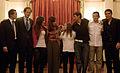 Cristina Fernandez recibe Medallistas olímpicos-1SEP08.jpg
