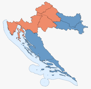 Croatian Parliamentary Election Results 2007.png