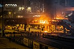 Cross Harbour Tunnel Bridge fire 20191117.jpg