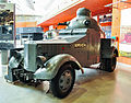 Crossley Chevrolet Armoured Car at the Tank Museum, Bovington.jpg