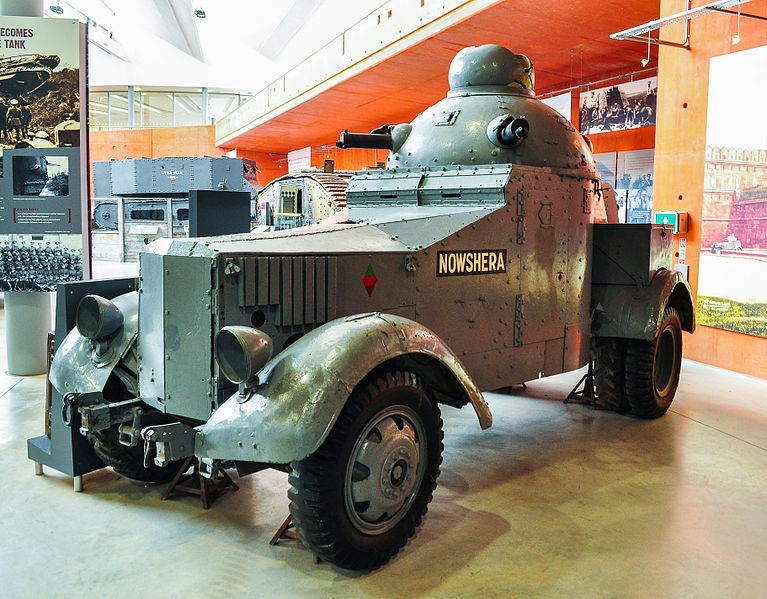 File:Crossley Chevrolet Armoured Car at the Tank Museum, Bovington.jpg