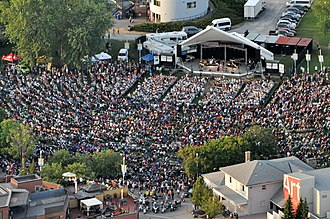 Peterborough Musicfest - Approximately 16,000 people in attendance for Serena Ryder, who opened Peterborough Musicfest's 30th Anniversary Season on June 25, 2016.
