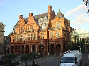 Cricklewood - Image: Crown Moran Hotel geograph.org.uk 1024763