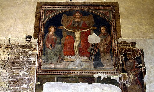 Crucifixion - Chapel of the Ladies (bookshop) - Santa Maria della Scala - Siena 2016