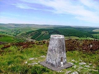 Mynydd Mallaen mountain in United Kingdom