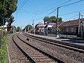 Csillaghegy HÉV station and Szentendrei út, 2016 Csillaghegy.jpg