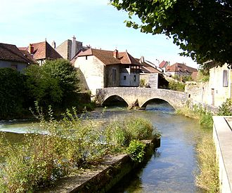 Arbois - The Cuisance at Arbois