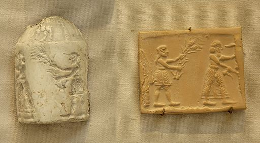Cylinder seal king Louvre AO6620