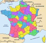 Départements et provinces de France