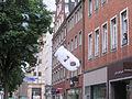 Düsseldorf, Flinger Straße, Schaum-Werbeaktion der Firma Neo (4).jpg