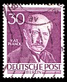 DBP-B Max Planck 30 Pf 1952.jpg
