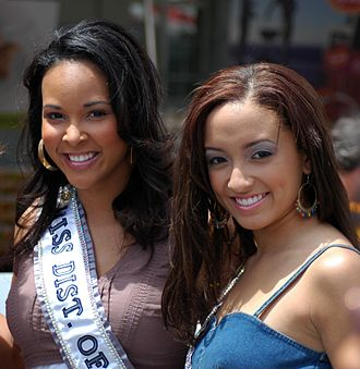 Miss District of Columbia Teen USA - Mercedes Lindsay, Miss District of Columbia USA 2007 and Jasmine Alexis, Miss District of Columbia Teen USA 2007