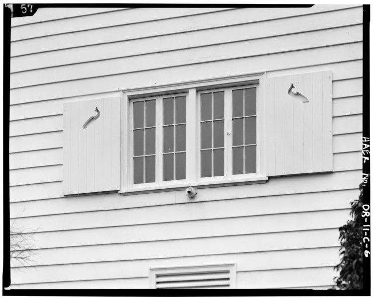 File Detail Exterior View Of Window Shutters On Outside Of Fish Hatchery Building Bonneville