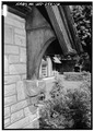 DETAIL OF BRACKET ON CHICKEN COOP - High Gate Carriage House, 801 Fairmont Avenue, Fairmont, Marion County, WV HABS WVA,25-FAIR,4-16.tif