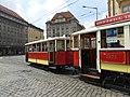 DPP tram line 91 on Senovážné náměstí 02.jpg
