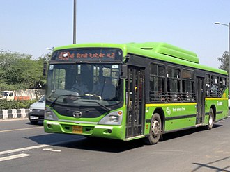 Public transport bus service - TATA Non-AC buses in India