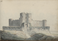 DV 27 No.56. Harlech Castle entrance.png