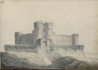 Entrée du château d'Harlech