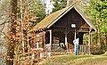 Dachsbauhütte bei Bad Liebenzell, Gebaut als Unterkunftshütte für Waldarbeiter und benannt nach den in dieser Waldabteilung vorkommenden großen Dachsbauten, 533 m ü. NN - panoramio.jpg
