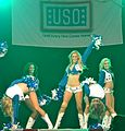 Dallas Cowboys Cheerleaders Performance - U.S. Army Garrison Humphreys, South Korea - 21 December 2011 (6558408301).jpg
