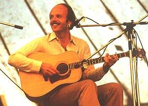 Dan Crary - Dan Crary at the 1981 Cambridge Folk Festival, UK