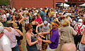 Dancing by the Old Mint at French Quarter Fest.jpg
