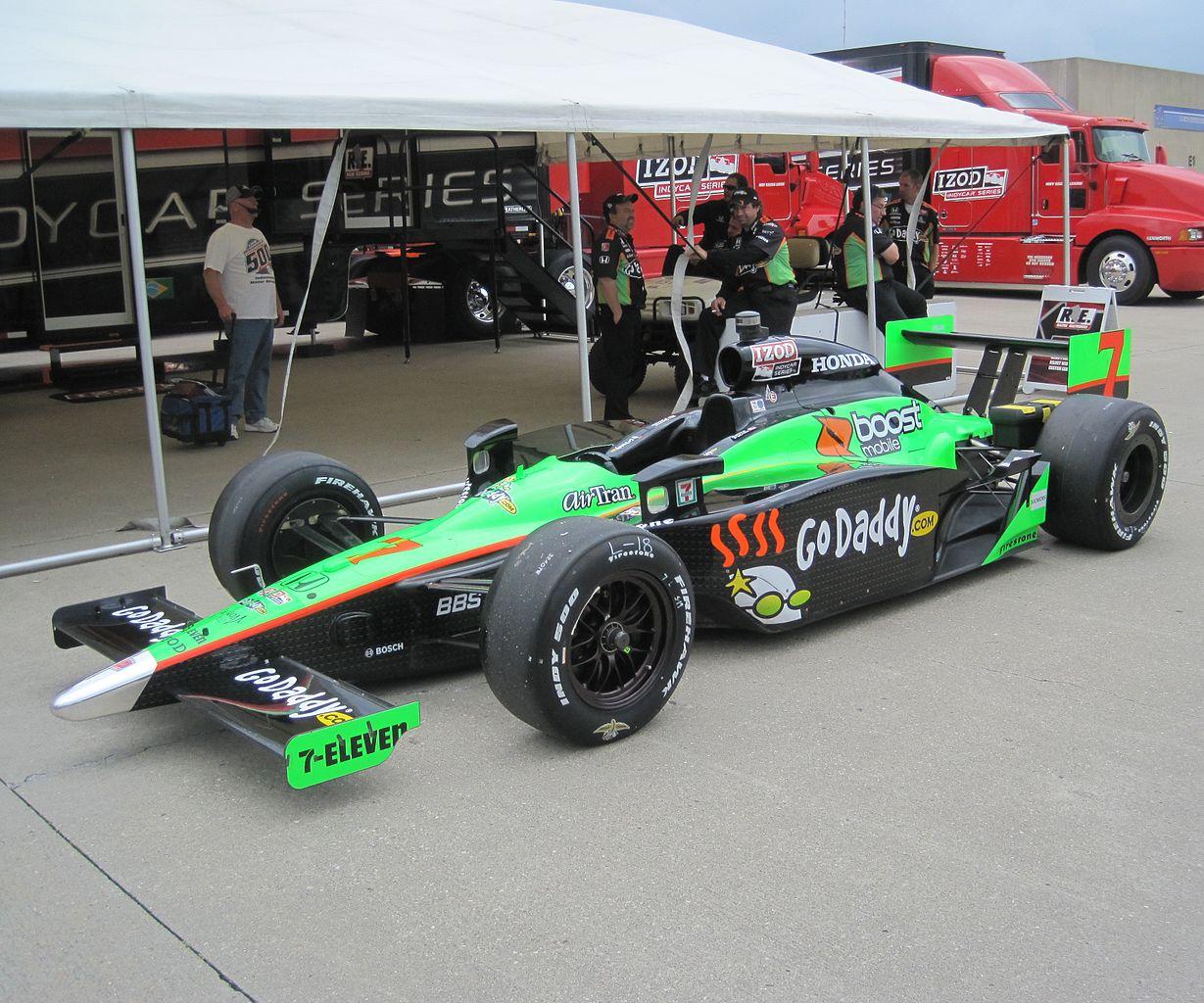 Danica Race Car