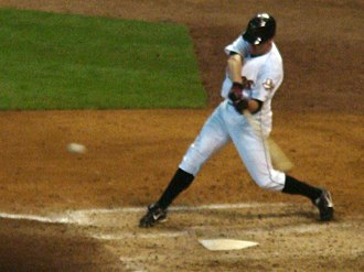 Darin Erstad - Erstad batting for the Astros