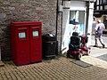 Dartmouth, postbox No. TQ6 158, Fairfax Place - geograph.org.uk - 1468162.jpg