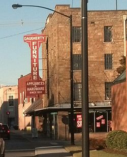 Charmant Daugherty Furniture Building On Main Street