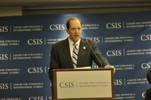 Dave Camp - Representative Camp speaking at the Center for Strategic and International Studies.