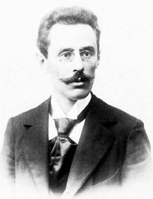 Dawid Janowski - Photograph c. 1910