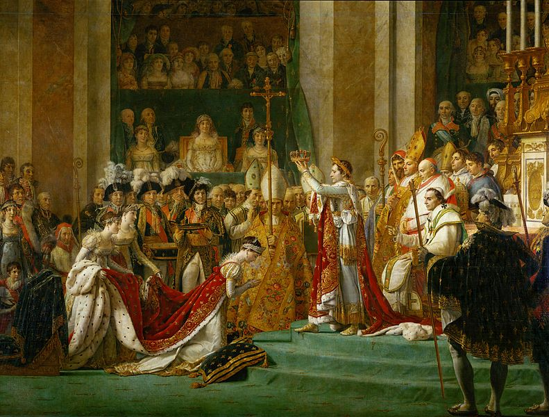 File:David - The Coronation of Napoleon and Josephine - detail.jpg
