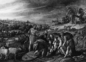 Joseph Thrown into a Pit