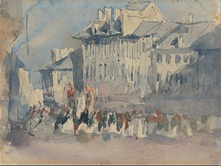 A Religious Procession