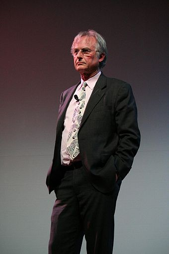 At the University of Texas at Austin, March 2008 Dawkins at UT Austin.jpg
