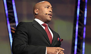 English: This is a photo of Daymond John, FUBU...