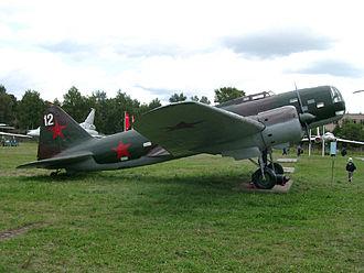 Order of battle for Operation Barbarossa - Ilyushin DB-3 bomber.
