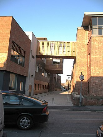 York St John University - Image: De Grey Street geograph.org.uk 1110720