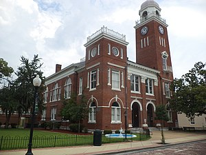 National Register of Historic Places listings in Decatur County, Georgia - Image: Decatur County Courthouse (NW corner)