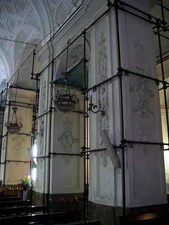 Santa Maria delle Grazie a Toledo - Image: Decorazioni Grazie a Toledo