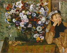 Degas, A Woman Seated beside a Vase of Flowers (Madame Paul Valpinçon).jpg